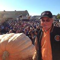 2013 winner Gary Miller with his record-breaking 1,985 lb Atlantic Giant